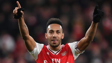 Arteta: Auba one of the best in the PL