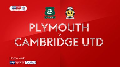 Plymouth 0-0 Cambridge