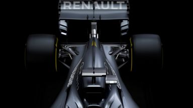 Why no car at Renault's launch?