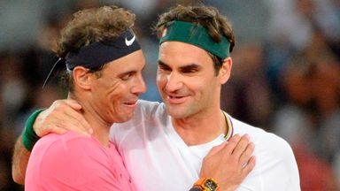Federer beats Nadal in charity match