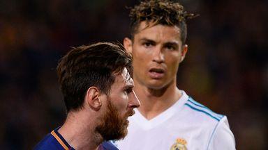 Larsson 'couldn't see' Messi, Ronaldo success