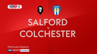 Salford 1-2 Colchester