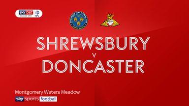 Shrewsbury 1-0 Doncaster