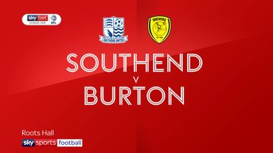 Southend 2-3 Burton Albion