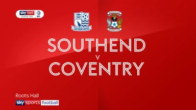Southend 0-2 Coventry