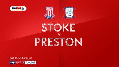 Stoke 0-2 Preston