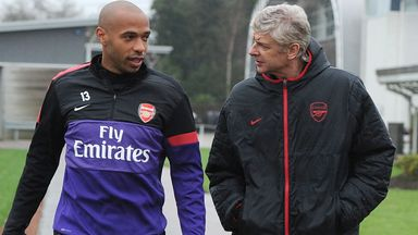 Henry: Wenger comparison would be the best