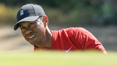Horror to hole-out for Woods!