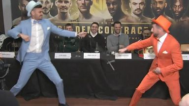 Dumb and Dumber: Boxers wand fight!