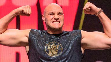 Fury weighs in heavy for Wilder rematch