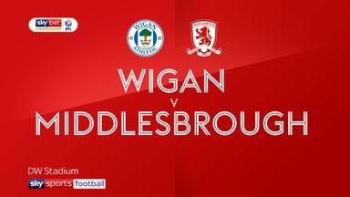 Wigan 2-2 Middlesbrough