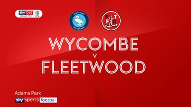 Wycombe 0-1 Fleetwood
