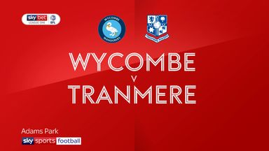 Wycombe 3-1 Tranmere