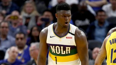 Zion fuelling Pelicans playoffs hopes