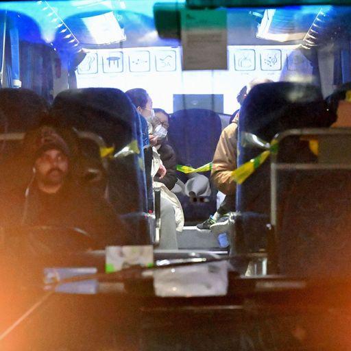 Briton 'taken ill' during evacuation flight from Wuhan