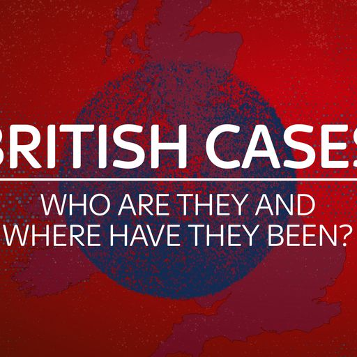 Coronavirus cases linked to the UK: Who they are and where they've been