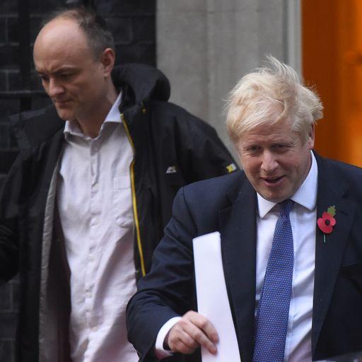 PM phoned editors to blame Cummings for leaks