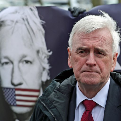 John McDonnell: Assange is 'the Dreyfus case of our age'