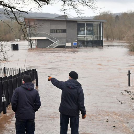 How record-breaking floods caused havoc along one river