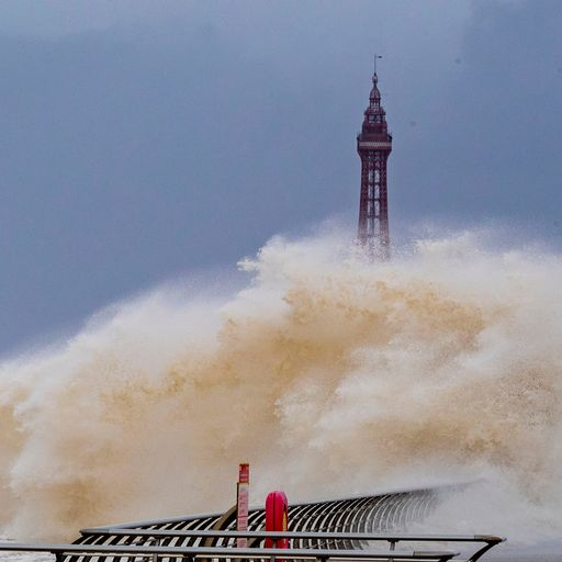 Get the latest updates from the Sky News weather team