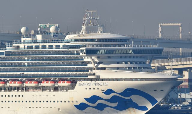 Coronavirus: First British coronavirus death as man from Diamond Princess cruise ship dies