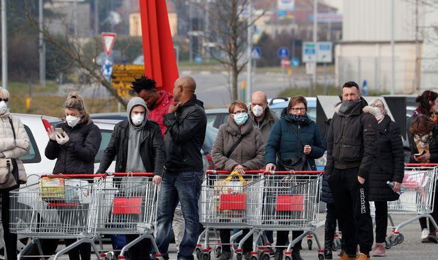 Coronavirus: Austria stops all trains to and from Italy amid Europe's biggest coronavirus outbreak