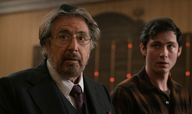 Al Pacino on new Nazi vigilante show Hunters, TV streaming, and learning from his young co-stars