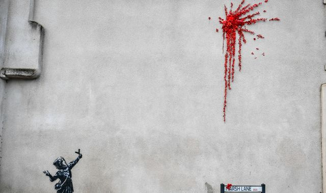 Potential new Banksy artwork in Bristol may be a nod to Valentine's Day