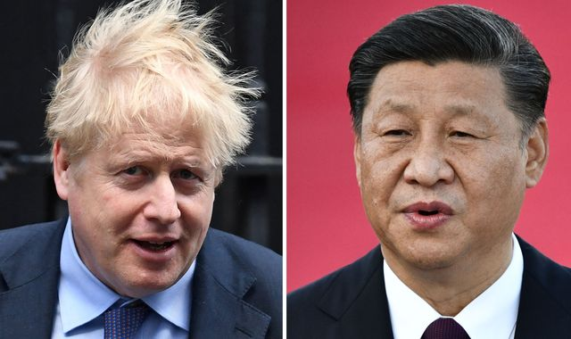 Boris Johnson tells Xi he 'loves China' and will 'work together' to fight coronavirus