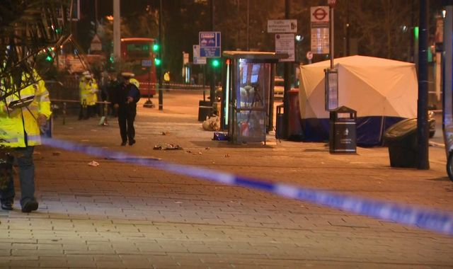 Man charged after pedestrian dies in crash during police pursuit in south London