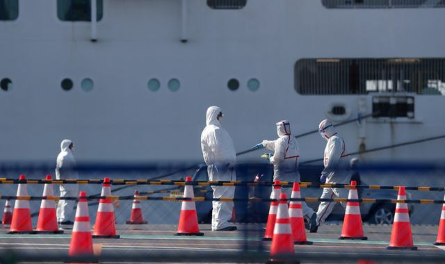 Two passengers on quarantined cruise ship have died