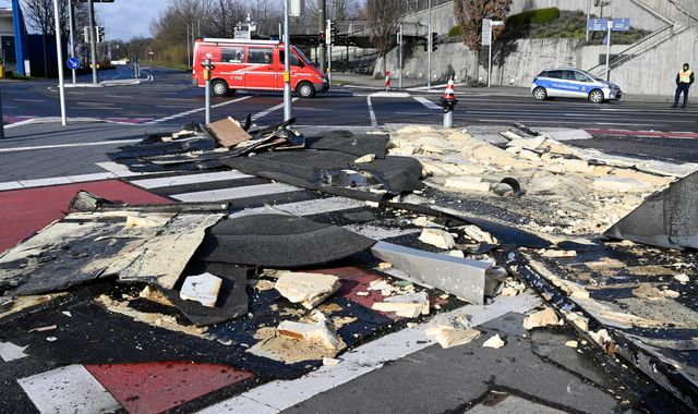 Storm Ciara moves away from the UK - killing six in mainland Europe
