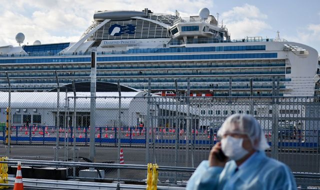 Coronavirus: Britons stuck on Diamond Princess cruiser in Japan to be evacuated on Friday