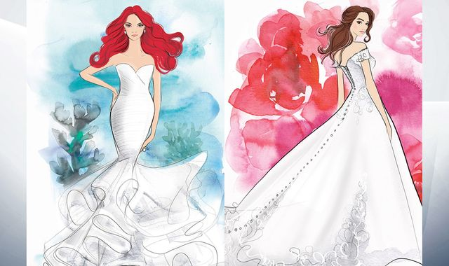 Disney launches wedding dress range replicating iconic princesses