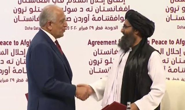 Afghanistan: US and Taliban sign historic peace deal hailed as 'momentous day'