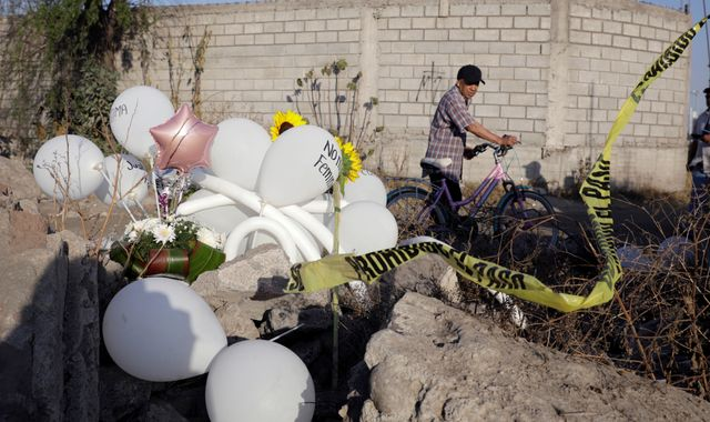 Murder of seven-year-old girl in Mexico fuels anger over brutal killings