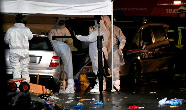 German carnival crash driver had 'dead expression and seemed satisfied'