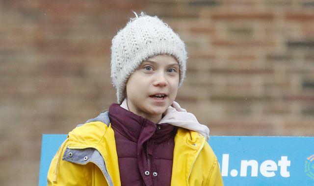 Greta Thunberg sends message to British schoolchildren at Bristol rally