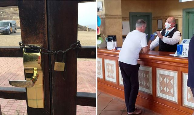 Coronavirus: Britons in Tenerife told to 'stay in rooms' as hotel in Adeje is quarantined