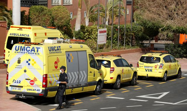 Coronavirus: Some Britons on lockdown at Tenerife hotel allowed to leave