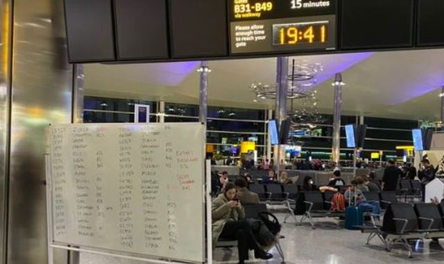 Heathrow Airport: Some flights cancelled after technical issues