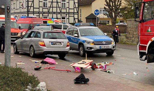 Germany: Around 30 injured as car 'deliberately driven' into German carnival parade