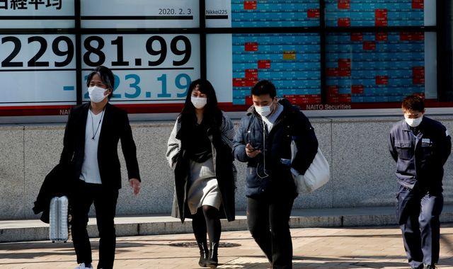 Japan on brink of recession as coronavirus impact threatens economy