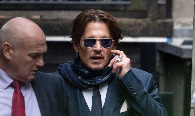 Johnny Depp in breach of court over 'drugs texts', judge says