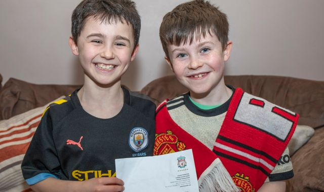 Liverpool boss Jurgen Klopp replies to letter from 10-year-old Man Utd fan