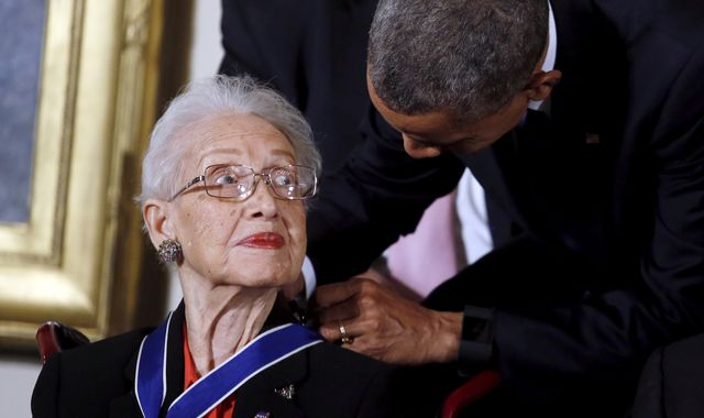 Katherine Johnson: NASA mathematician portrayed in Hidden Figures film has died aged 101