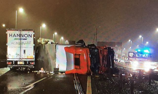 M6 reopens after crash involving two lorries causes major delays