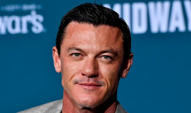 Luke Evans praises NHS for saving his dad's hand after chainsaw accident