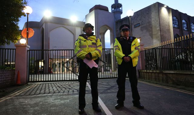 Man charged over stabbing of prayer leader at London mosque