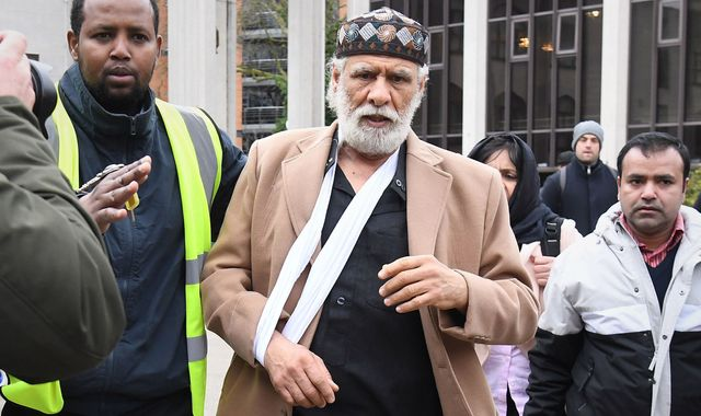 Prayer leader back at London mosque less than 24 hours after stabbing